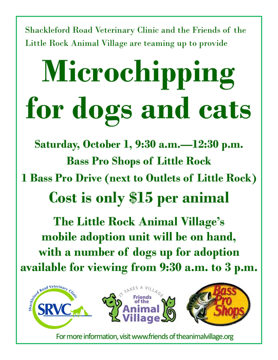 Microchipping for dogs and cats - SRVC